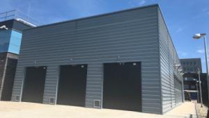 Separate building for new emergency power generators