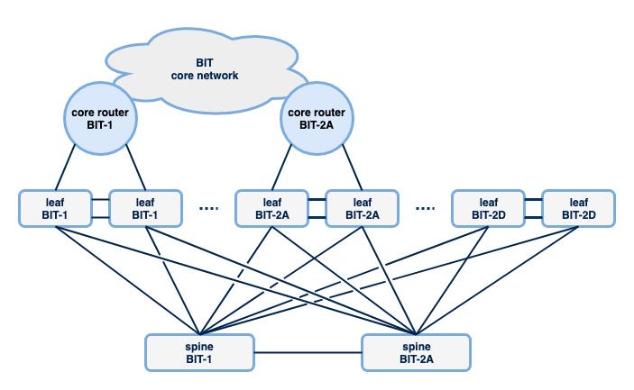 Het access netwerk van BIT