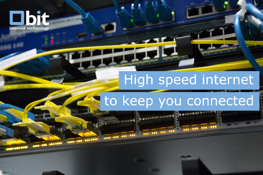 High speed internet to keep your business running