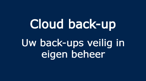 Cloud back-up